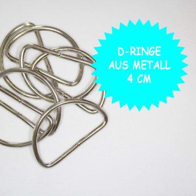 renee-d.de Onlineshop: D Ringe Metall 4 cm