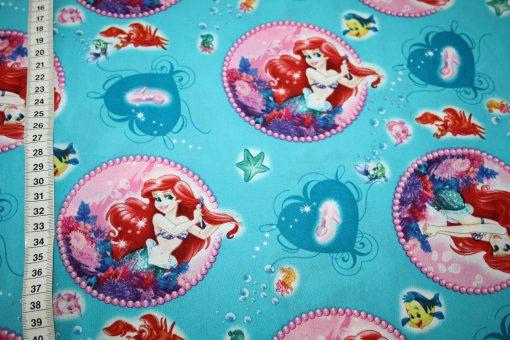 renee-d.de Onlineshop: Original Walt Disney Baumwollstoff Arielle die Meerjungfrau