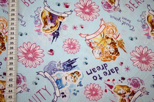 renee-d.de Onlineshop: Original Walt Disney Baumwollstoff Disney Princess Prinzessin