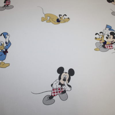 renee-d.de Onlineshop: Original Walt Disney Baumwollstoff Donald Duck Mickey Maus