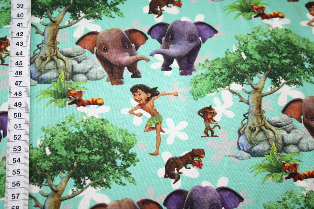 renee-d.de Onlineshop: Original Walt Disney Jersey Stoff Das Dschungelbuch