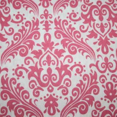 renee-d.de Onlineshop: Riley Blake Baumwollstoff Hollywood Ornamente rosa pink