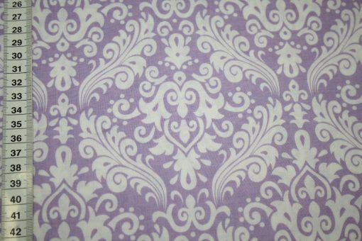 renee-d.de Onlineshop: Riley Blake Baumwollstoff Hollywood Ornamente lila