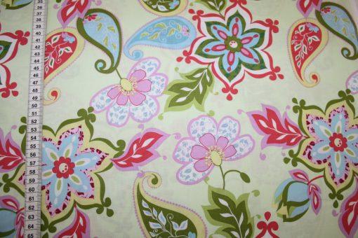 renee-d.de Onlineshop: Riley Blake Splendor Baumwollstoff bunt Muster Blumen
