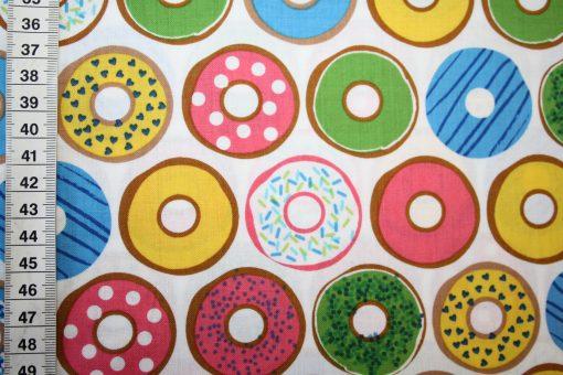 renee-d.de Onlineshop: Robert Kaufmann Baumwollstoff Donuts