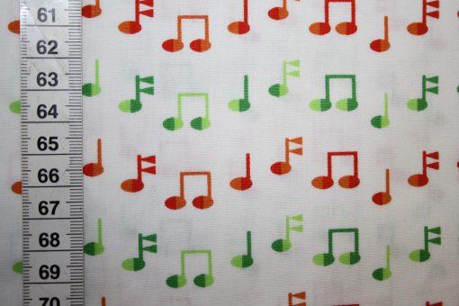renee-d.de Onlineshop: Robert Kaufmann Baumwollstoff Musik Noten