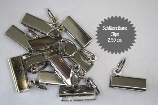 renee-d.de Onlineshop: Schlüsselband Clips 3cm