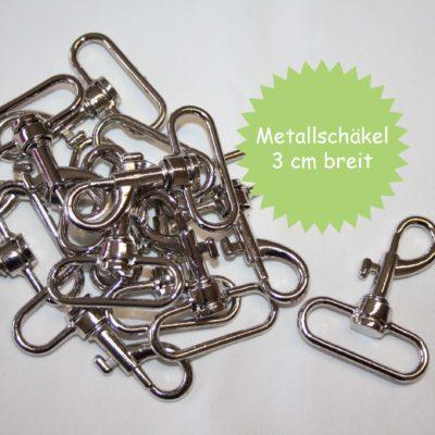 renee-d.de Onlineshop: Metallschäkel 3 cm breit