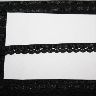 renee-d.de Onlineshop: Schmale Baumwollspitze schwarz