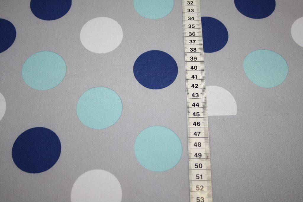 renee-d.de Onlineshop: Soft Shell Softshell Outdoor Jackenstoffe grau Punkte blau