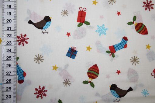 renee-d.de Onlineshop: Swafing Baumwollstoff Weihnachten