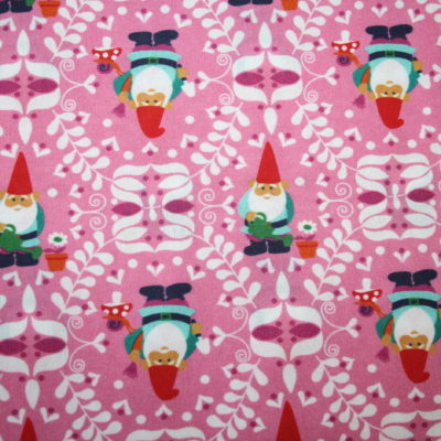 renee-d.de Onlineshop: Swafing Baumwollstoff Beppo Zwerge rosa