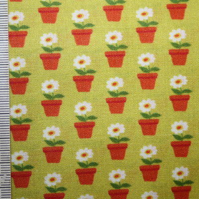 renee-d.de Onlineshop: Swafing Baumwollstoff Beppo kleine Blumen grün