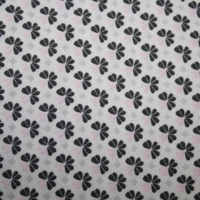 renee-d.de Onlineshop: Swafing Baumwollstoff Julia grau rosa mit Blumen