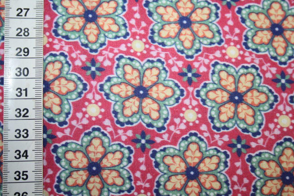 renee-d.de Onlineshop: Swafing Baumwollstoff Muster pink