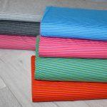 renee-d.de Jersey stoff bunte Streifen