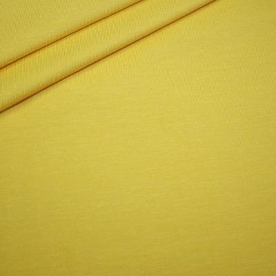 renee-d.de Onlineshop: Jersey Stoff gelb uni