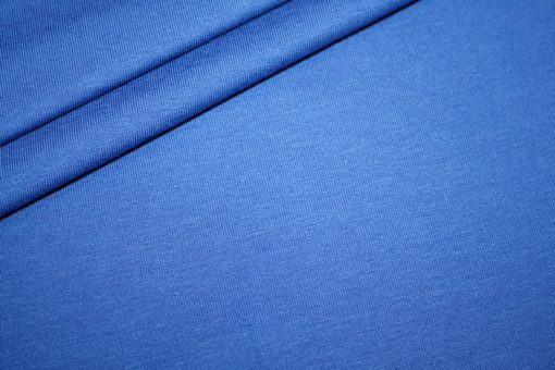 renee-d.de Onlineshop: Jersey Stoff royal blau uni