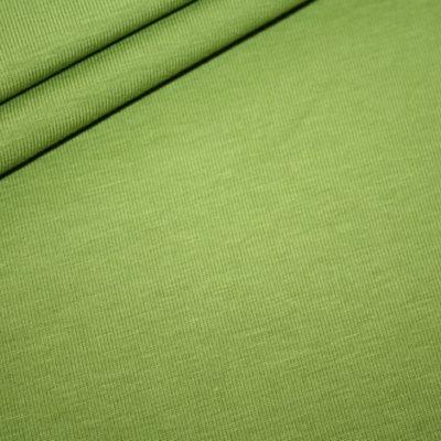 renee-d.de Onlineshop: Jersey Stoff grün uni