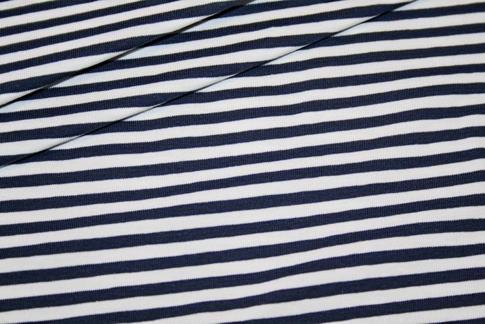jersey stoff blau wei streifen renee m rchenhaft. Black Bedroom Furniture Sets. Home Design Ideas