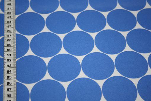 renee-d.de Onlineshop: Swafing Laminatet Wachstuch Big Dots Punkte blau