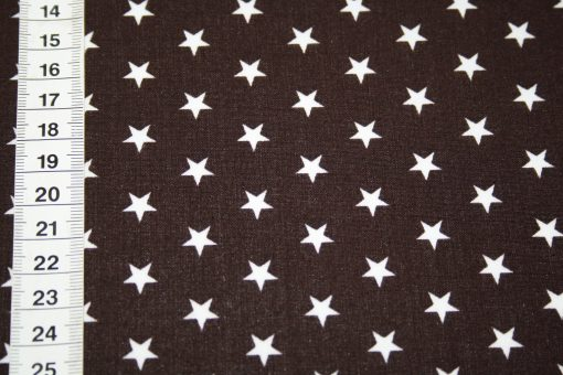 renee-d.de Onlineshop: Swafing Laminatet Wachstuch Sterne braun