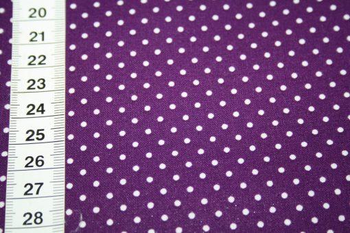 renee-d.de Onlineshop: Swafing Laminatet Wachstuch kleine Punkte lila