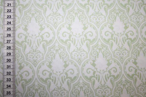 renee-d.de Onlineshop: Tanya Whelan Baumwollstoff grün Ornamente