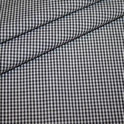 renee-d.de Onlineshop: Baumwollstoff Vichy Karo schwarz klein