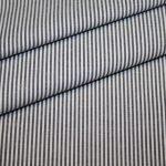Artikel aus dem renee-d.de Onlineshop: Baumwollstoff Vichy Streifen schwarz klein