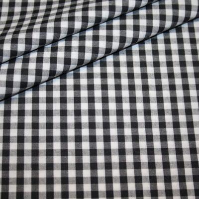 Artikel aus dem renee-d.de Onlineshop: Baumwollstoff Vichy Karo schwarz