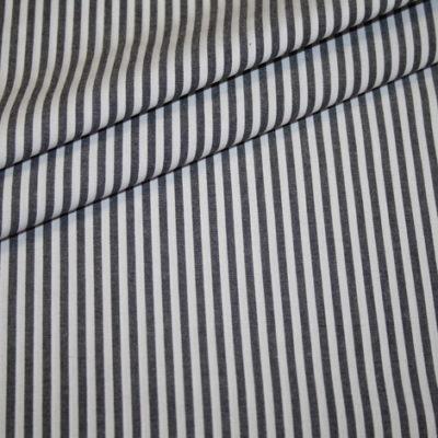 Artikel aus dem renee-d.de Onlineshop: Baumwollstoff Vichy Streifen schwarz mittel