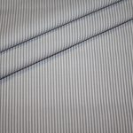 renee-d.de: Baumwollstoff Vichy Streifen grau klein