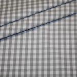 Artikel aus dem renee-d.de Onlineshop: Baumwollstoff Vichy Karo grau groß