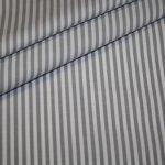 Artikel aus dem renee-d.de Onlineshop: Baumwollstoff Vichy Streifen Stoff grau mittel