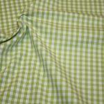 Artikel aus dem renee-d.de Onlineshop: Baumwoll Stoff Vichy Karo in grün groß