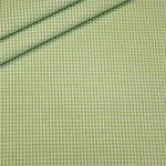 Artikel aus dem renee-d.de Onlineshop: Baumwoll Stoff Vichy Karo grün klein