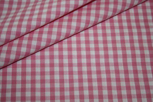 renee-d.de Baumwoll Stoff Vichy Karo in pink