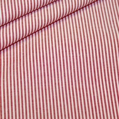Artikel aus dem renee-d.de Onlineshop: Baumwoll Stoff Vichy Streifen rot klein