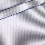 renee-d.de Onlineshop: Baumwollstoff Vichy Streifen dunkelblau klein