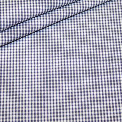 renee-d.de Onlineshop: Baumwoll Stoff Vichy Kaaro dunkelblau klein