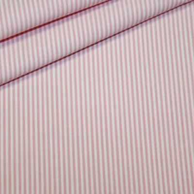 Artikel aus dem renee-d.de Onlineshop: Baumwoll Stoff Vichy Streifen rosa klein