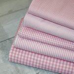 Artikel aus dem renee-d.de Onlineshop: Baumwollstoff Vichy Karo rosa mittel