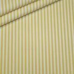 renee-d.de: Baumwollstoff Vichy Streifen Stoff gelb mittel
