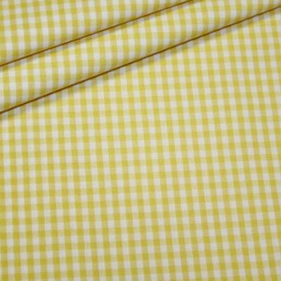 Artikel aus dem renee-d.de Onlineshop: Baumwollstoff Vichy Karo gelb mittel