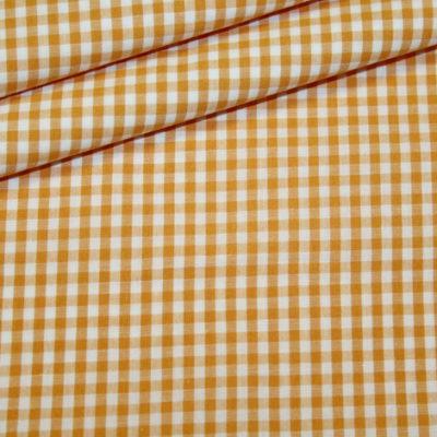 Artikel aus dem renee-d.de Onlineshop: Baumwollstoff Vichy Karo orange mittel