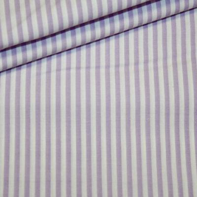 Artikel aus dem renee-d.de Onlineshop: Baumwoll Stoff Vichy Streifen flieder mittel