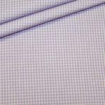 renee-d.de Onlineshop: Baumwollstoff Vichy Karo lila klein