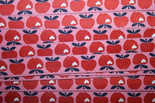 renee-d.de Onlineshop: Webband Äpfel Apfel