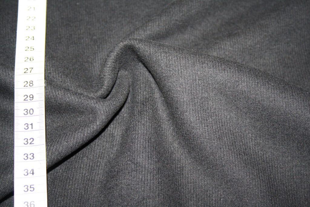 renee-d.de Onlineshop: Weicher Kuscheliger Strickstoff schwarz